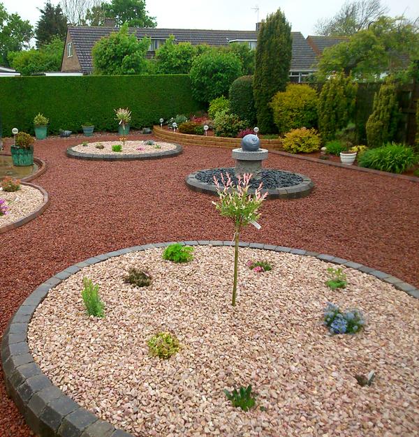 Gravel Gardens, weed-free gravel garden, maintenance-free ...